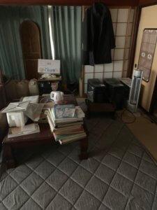 富山県射水市引っ越し前不用品回収現場写真