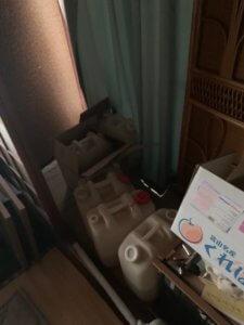 富山県射水市の不用品回収、作業前写真