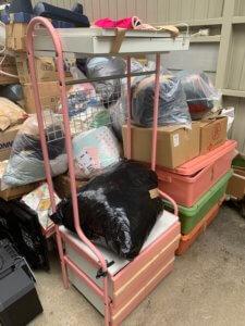 富山県魚津市の遺品整理で出た処分品の写真