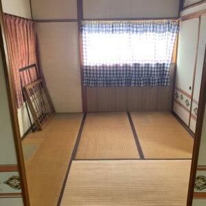 富山県富山市の遺品整理、作業後の部屋の現場写真