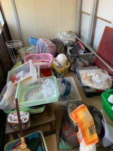 富山県富山市、一軒家の不用品回収現場写真