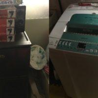 冷蔵庫、洗濯機の不用品回収の写真
