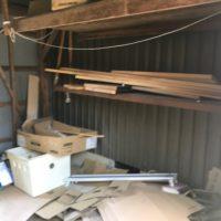 物置の不用品回収内部写真