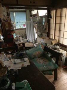 富山県高岡市一戸建ての遺品整理現場写真