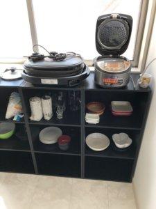富山市不用品回収の家電類の写真