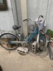 富山県魚津市、遺品整理の自転車回収写真
