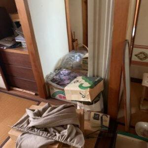 富山県富山市の遺品整理前の状態