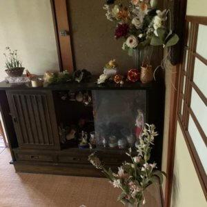 富山市遺品整理、サイドボードの写真